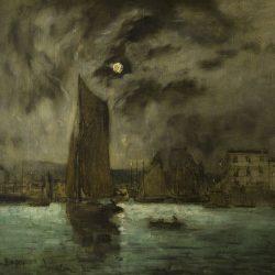 Vue du port d'Honfleur