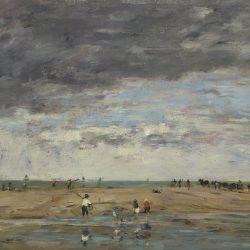 Pêcheurs en bord de mer