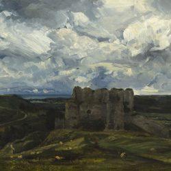 Vue du château d'Arques-la-Bataille