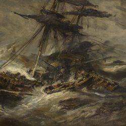 Navires dans la tempête
