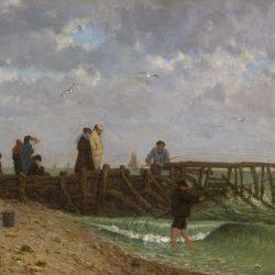 La Jetée à Villerville-sur-Mer