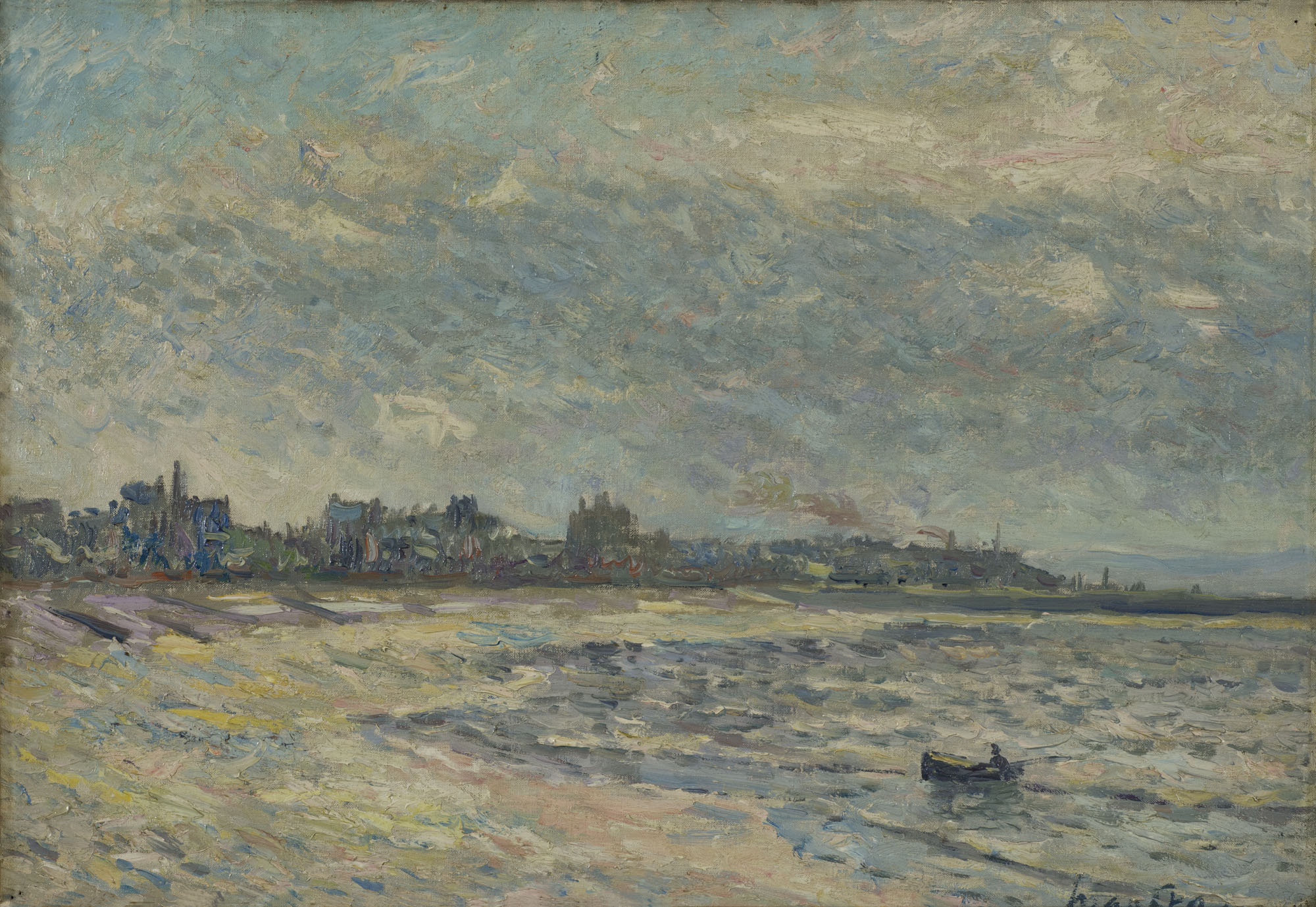 Tableau La Plage du Havre