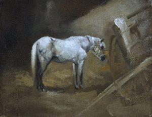 Tableau Le Cheval du plâtrier