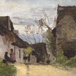 Rue de village en Normandie