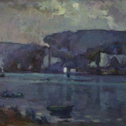 La Seine près de Rouen