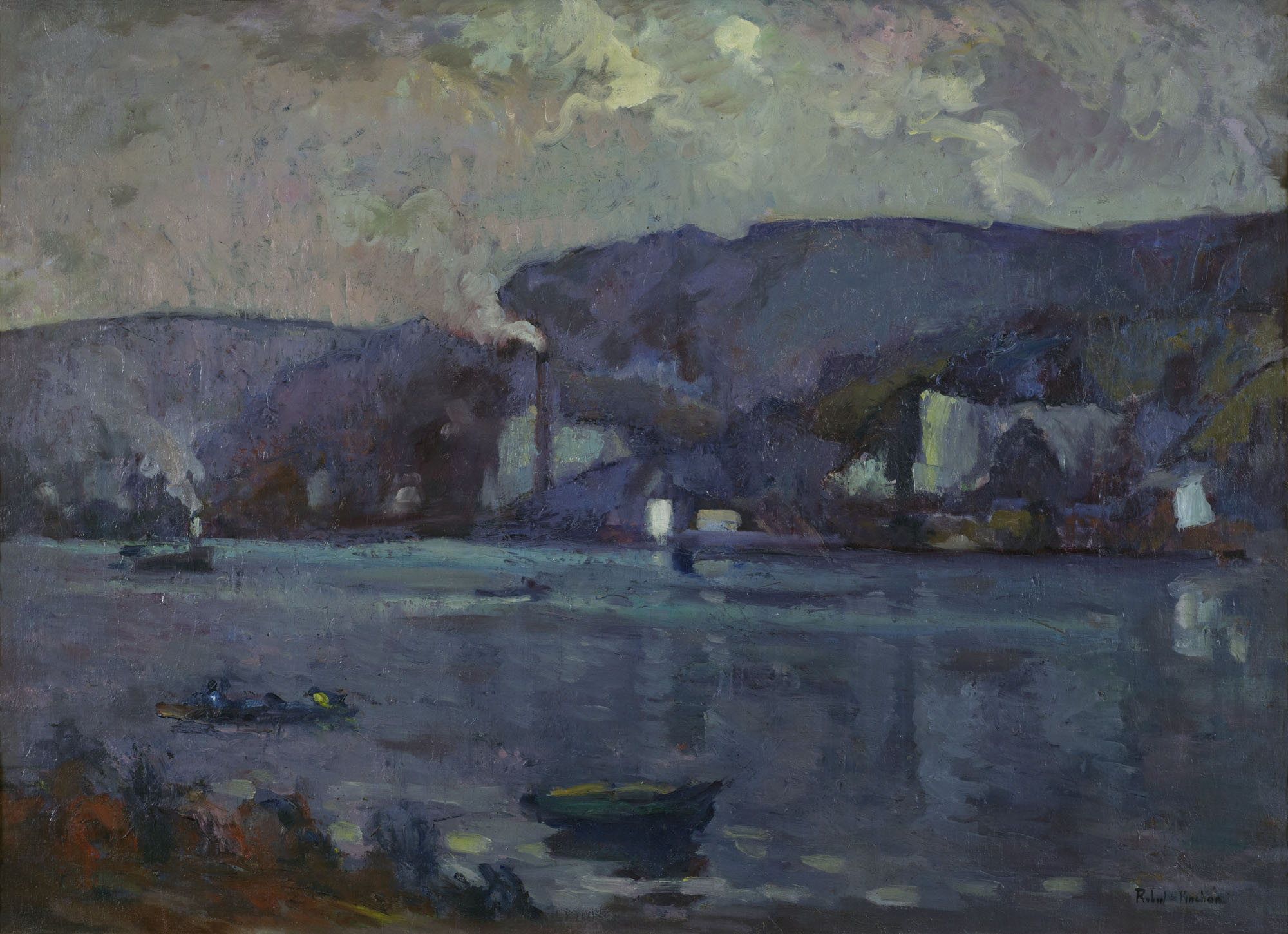 Tableau La Seine près de Rouen