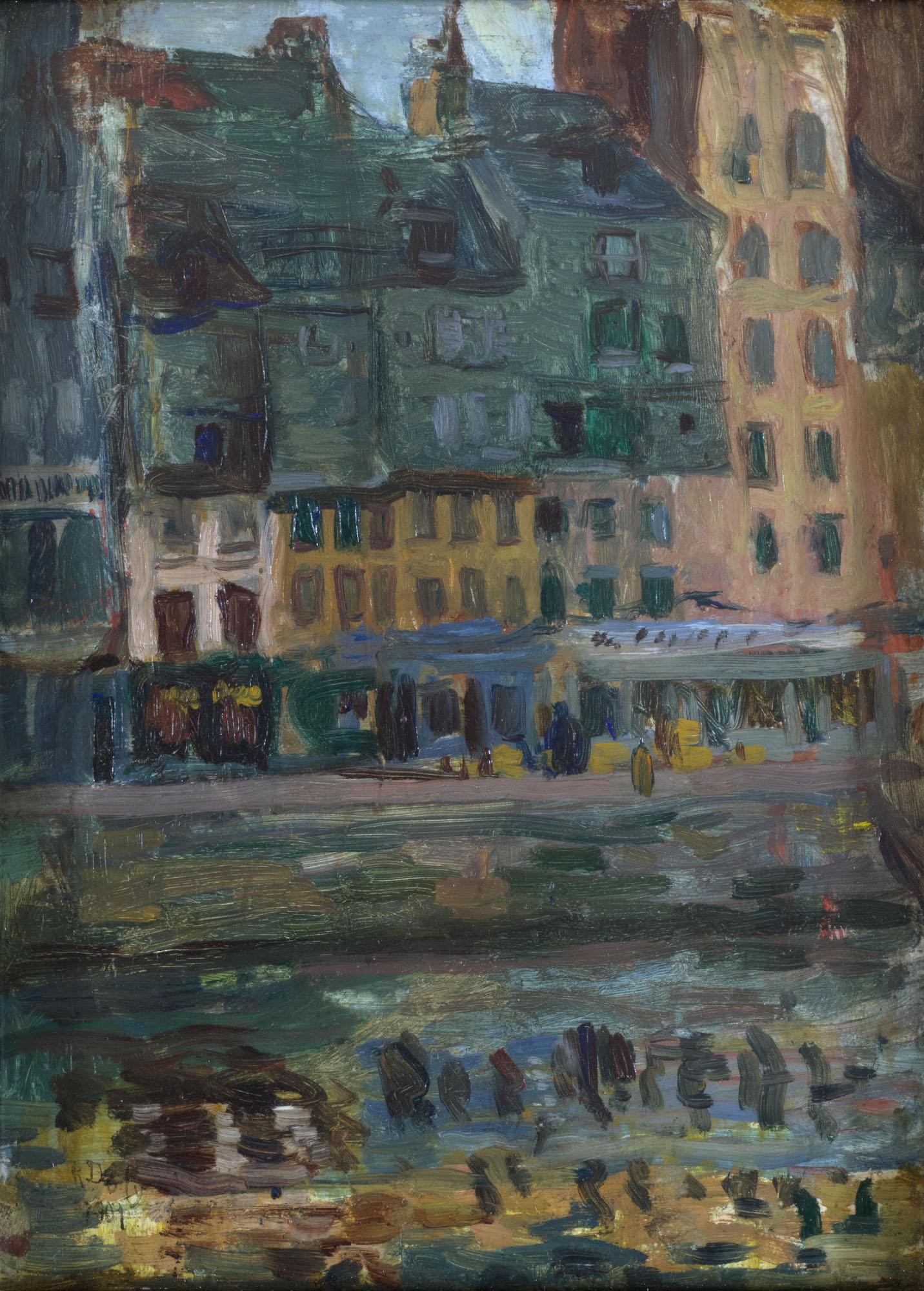 Tableau Le Bassin du Roy au Havre