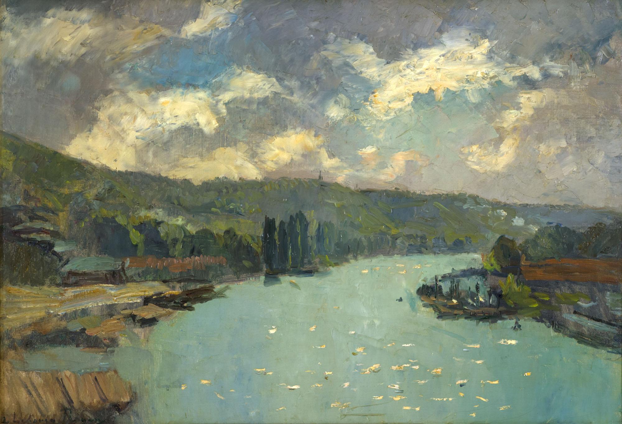 Tableau La Seine à Rouen