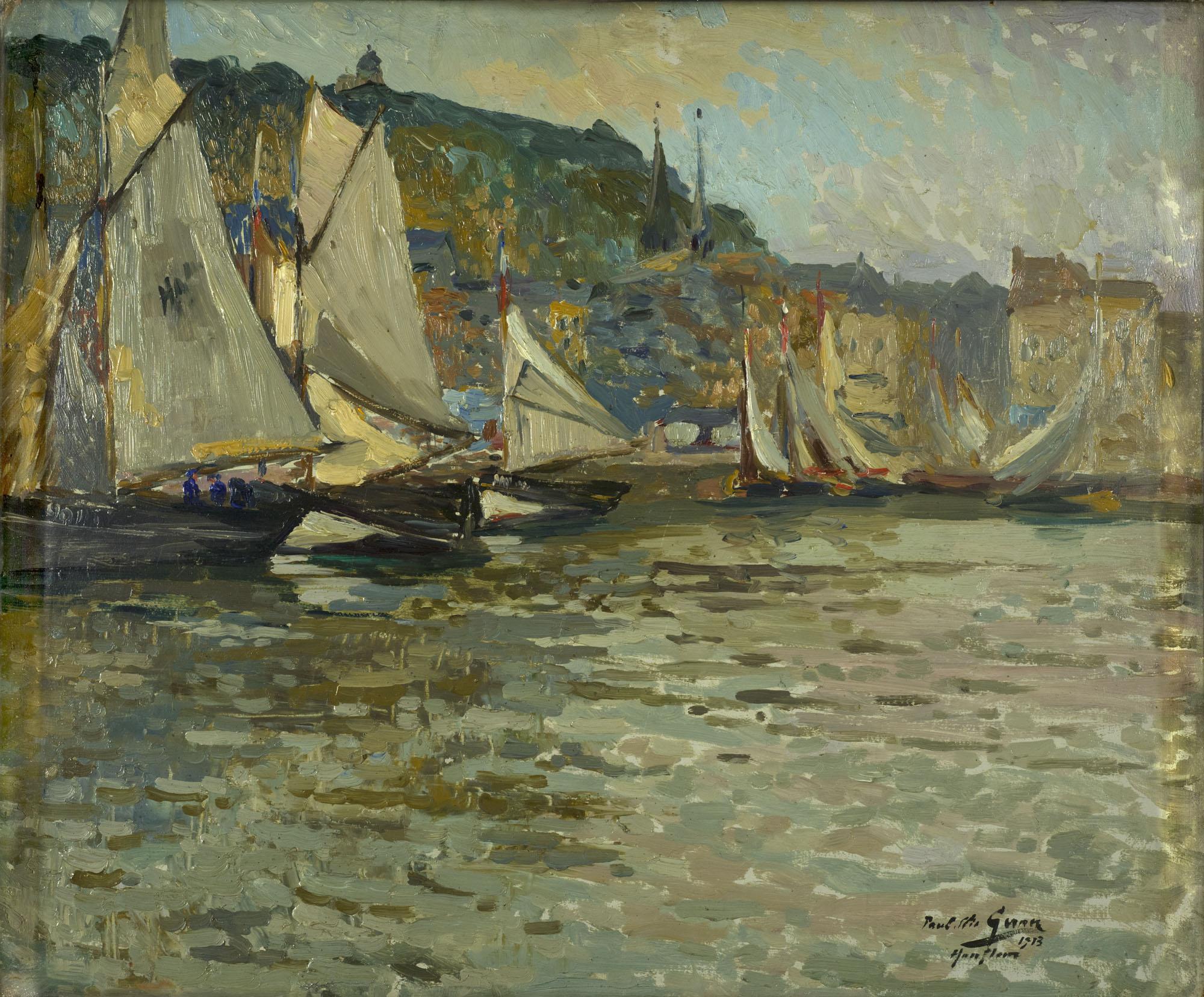 Tableau Le Port de Honfleur