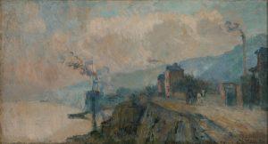 Tableau Bords de Seine à Dieppedale
