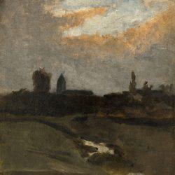 Village dans la plaine de Caen