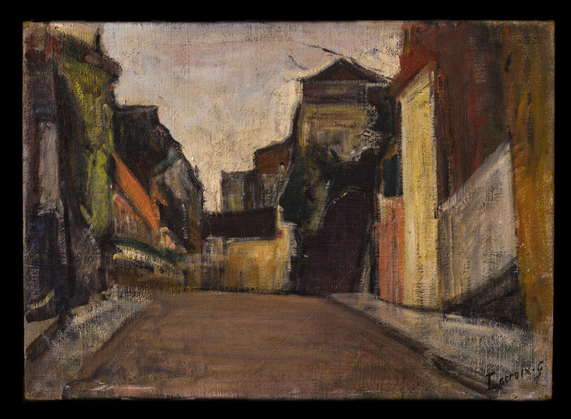 Tableau Maisons Georges LACROIX