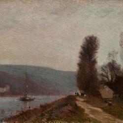 Brume matinale sur les bords de la Seine