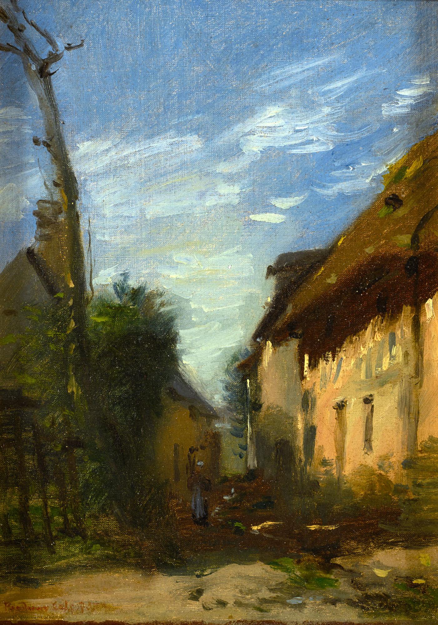 Tableau Le Chemin du Poudreux