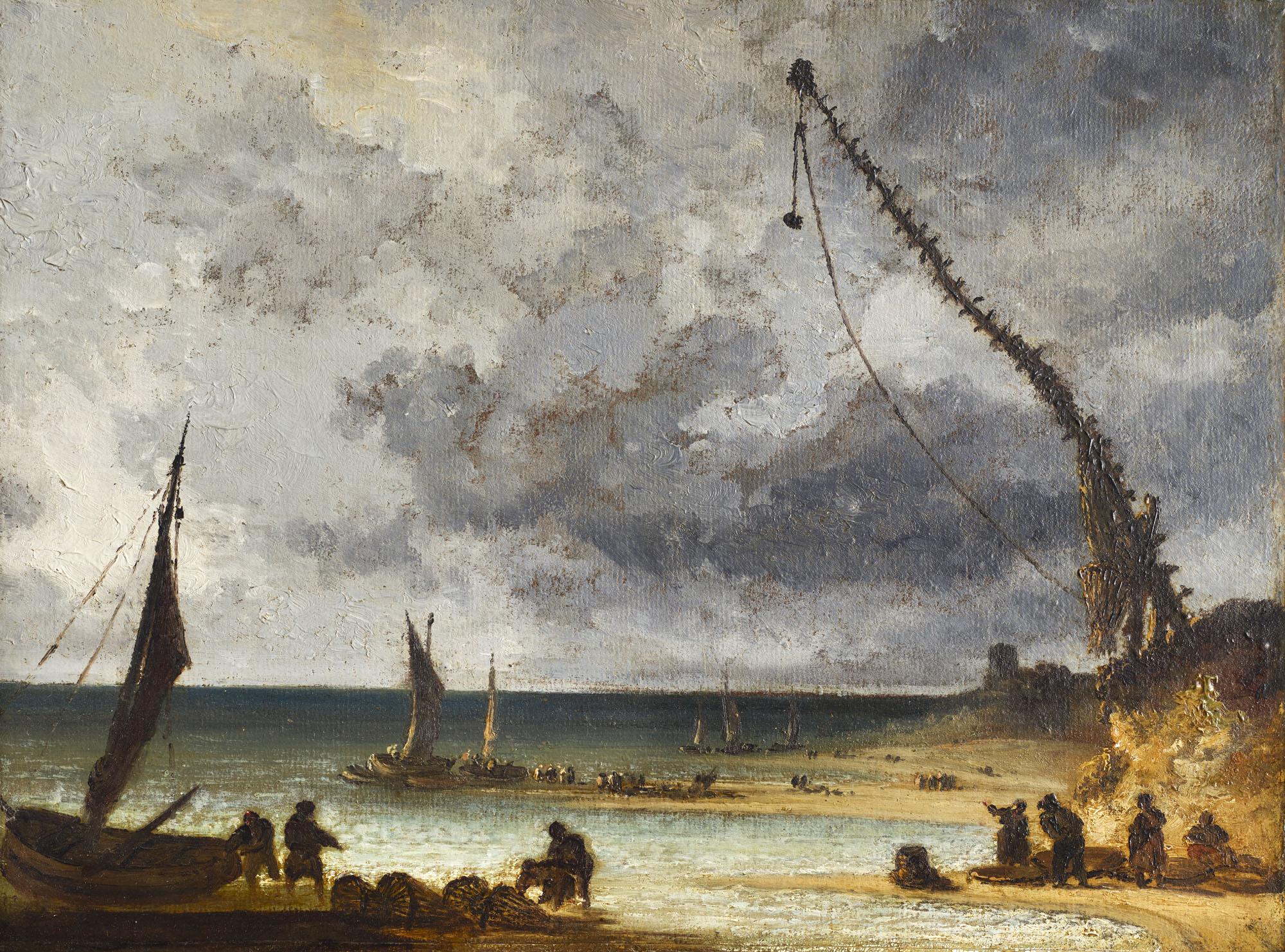 Tableau Paysage maritime