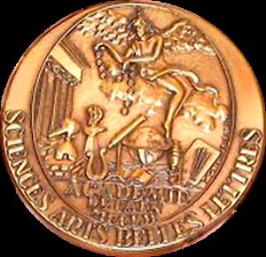 Médaille Académie de Caen