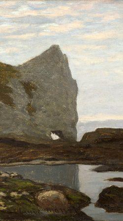 Tableau Etretat de Monet